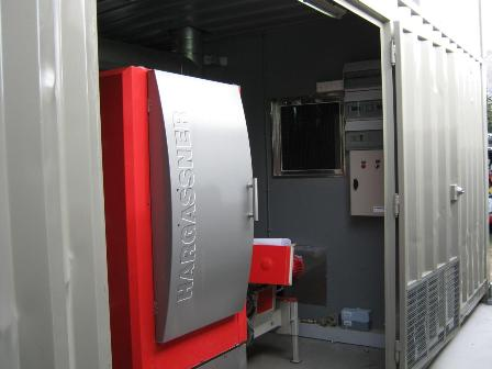 Hargassner Wood Chip Boiler